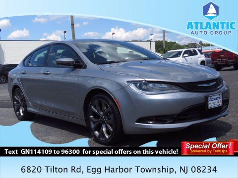 Pre-Owned 2016 Chrysler 200 S FWD 4dr Car