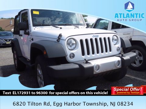 Pre-Owned 2014 Jeep Wrangler Sahara 4WD Convertible