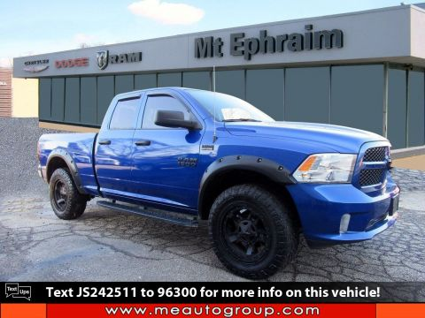 Pre-Owned 2018 Ram 1500 Express 4WD Quad Cab