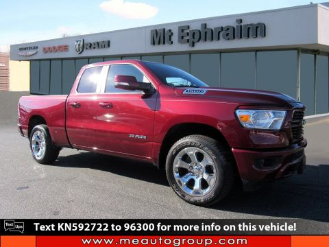Pre-Owned 2019 Ram 1500 Big Horn/Lone Star 4WD Quad Cab