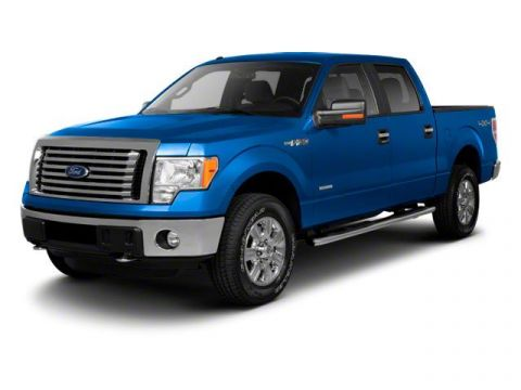 Pre-Owned 2011 Ford F-150 XL 4WD Crew Cab Pickup
