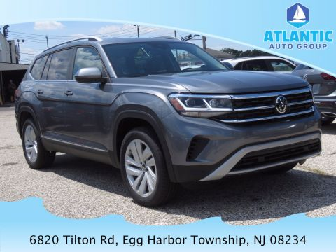 New 2021 Volkswagen Atlas V6 SEL with 4MOTION® AWD Sport Utility