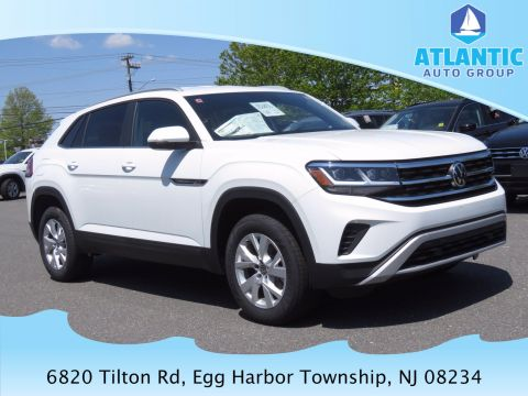 New 2020 Volkswagen Atlas Cross Sport S with 4MOTION® AWD Sport Utility