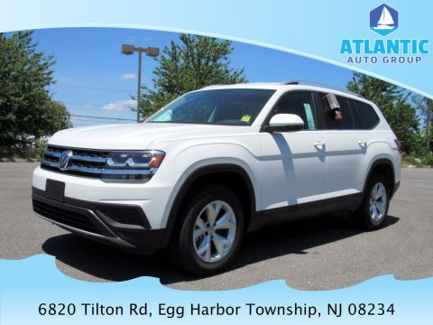 New 2019 Volkswagen Atlas V6 S with 4MOTION® AWD Sport Utility