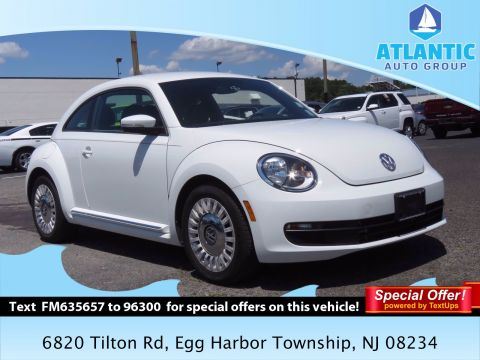 Pre-Owned 2015 Volkswagen Beetle Coupe 1.8T FWD Hatchback