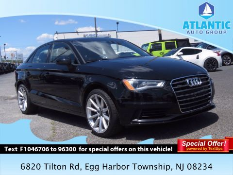 Pre-Owned 2015 Audi A3 2.0T Premium AWD 4dr Car